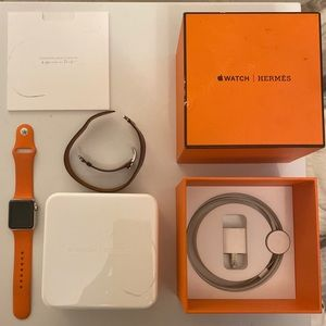 Hermes Apple Watch Series 1 38mm Double Tour